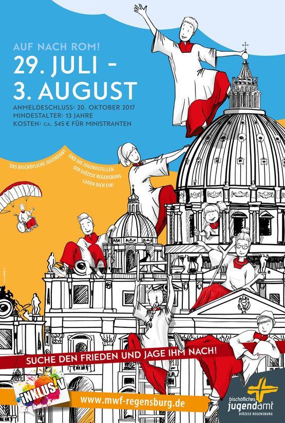 Ministrantenwallfahrt Rom 2021 Regensburg